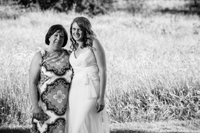 Me and my mom on my wedding day.